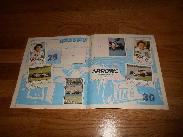 Coleccionismo deportivo: PANINI ALBUM F1 GRAN PRIX FORMULA 1 INCOMPLETO BUEN ESTADO FALTAN 27 CROMOS - Foto 17 - 110263343