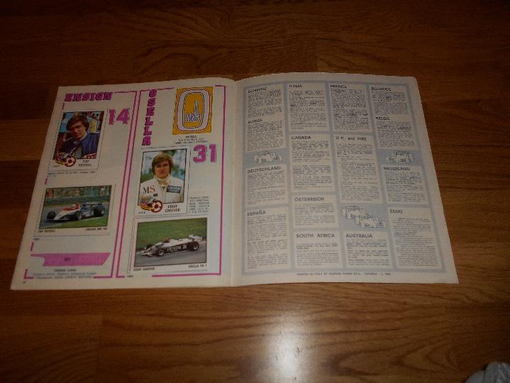 Coleccionismo deportivo: PANINI ALBUM F1 GRAN PRIX FORMULA 1 INCOMPLETO BUEN ESTADO FALTAN 27 CROMOS - Foto 18 - 110263343