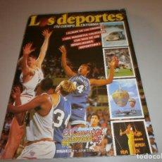 Coleccionismo deportivo: ALBUM COMPLETO LOS DEPORTES. Lote 110650491