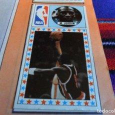 Coleccionismo deportivo: MICHAEL JORDAN, DAVID ROBINSON, CAMPEONATO DE LIGA BALONCESTO 1986 1987 COMPLETO. J. MERCHANTE. MBE.. Lote 110856719