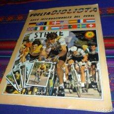 Coleccionismo deportivo: MUY BUEN ESTADO. VUELTA CICLISTA ASES INTERNACIONALES DEL PEDAL 1983 1984 COMPLETO. J. MERCHANTE.. Lote 112861891