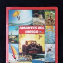 Coleccionismo deportivo: ALBUM CARPETA AMANTES DEL RIESGO. TELEINDISCRETA. COMPLETO. IMPECABLE!!. Lote 113148055