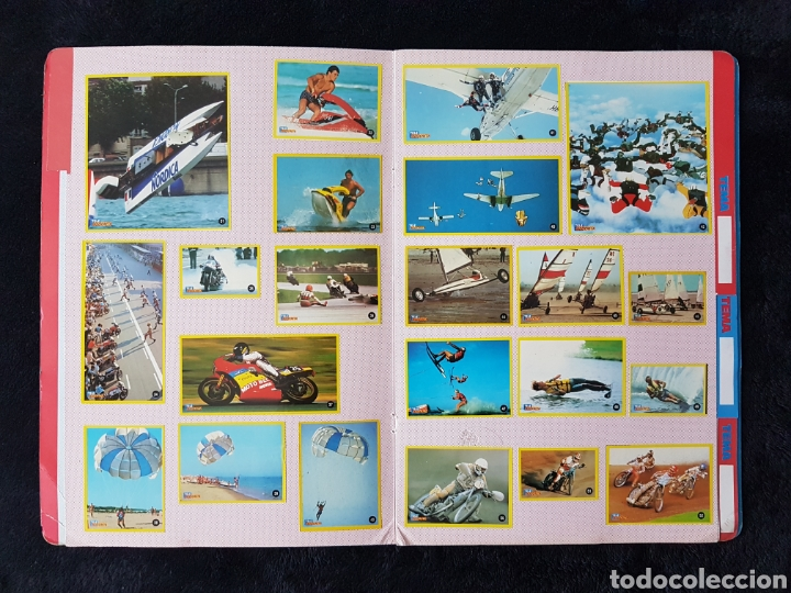 Coleccionismo deportivo: Album carpeta Amantes del riesgo. Teleindiscreta. Completo. Impecable!! - Foto 3 - 113148055