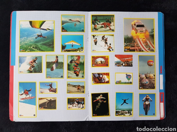 Coleccionismo deportivo: Album carpeta Amantes del riesgo. Teleindiscreta. Completo. Impecable!! - Foto 4 - 113148055