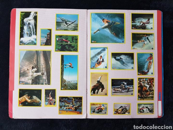 Coleccionismo deportivo: Album carpeta Amantes del riesgo. Teleindiscreta. Completo. Impecable!! - Foto 5 - 113148055