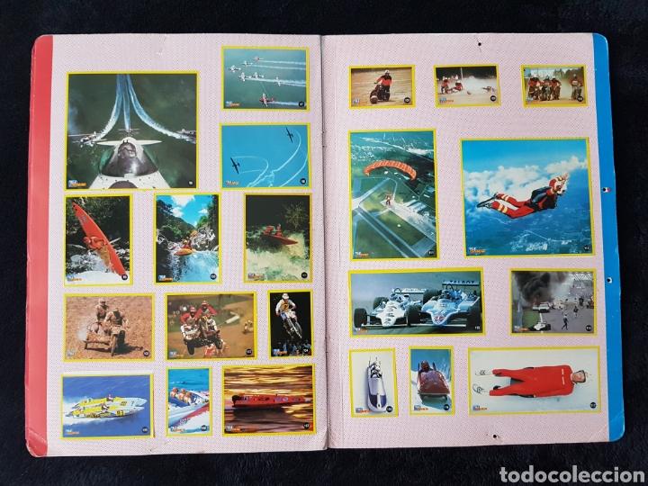 Coleccionismo deportivo: Album carpeta Amantes del riesgo. Teleindiscreta. Completo. Impecable!! - Foto 6 - 113148055