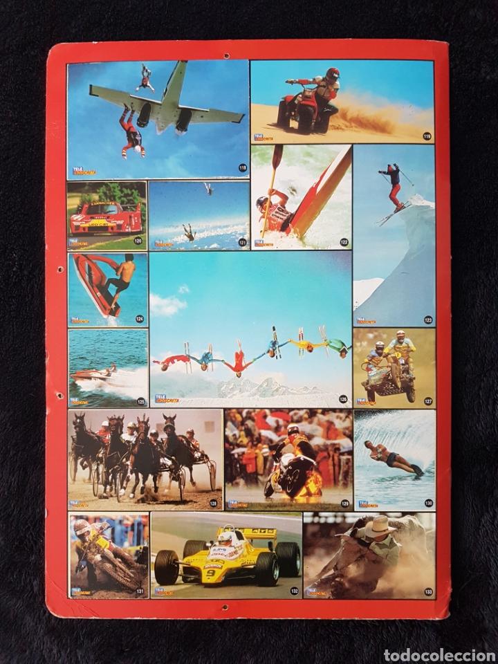Coleccionismo deportivo: Album carpeta Amantes del riesgo. Teleindiscreta. Completo. Impecable!! - Foto 7 - 113148055