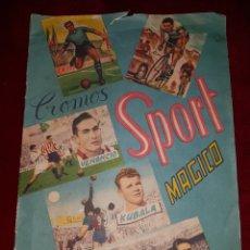 Coleccionismo deportivo: ALBUM FUTBOL CROMOS SPORT MAGICO 3D. Lote 113404458