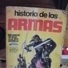 Coleccionismo deportivo: ALBUM COMPLETO A FALTA DEL CROMO 287 DE HISTORIA DE LAS ARMAS. Lote 114152711
