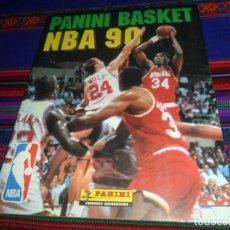 Coleccionismo deportivo: NUEVO Y CON 2 CROMOS DE MICHAEL JORDAN. PANINI BASKET NBA 90. MUY DIFÍCIL.. Lote 114167767