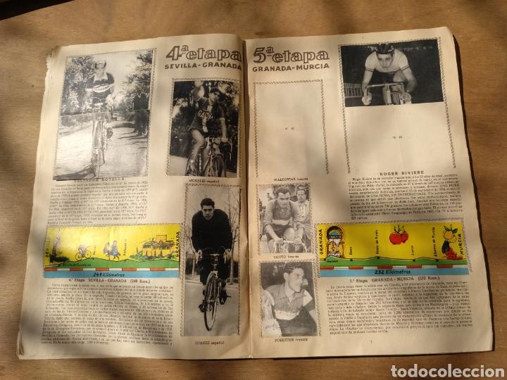 Coleccionismo deportivo: Muy raro album vuelta ciclista España ciclismo 1959 faltan 46 cromos - Foto 3 - 114523592