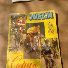 Coleccionismo deportivo: MUY RARO ALBUM VUELTA CICLISTA ESPAÑA CICLISMO 1959 FALTAN 46 CROMOS. Lote 114523592