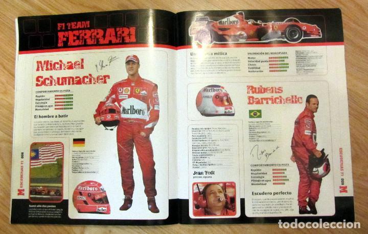 Coleccionismo deportivo: ALBUM COMPLETO GP MARCA FÓRMULA 1 F1 Y MOTO GP A TODO GAS 2005 FERNANDO ALONSO VALENTINO ROSSI - Foto 2 - 114726379