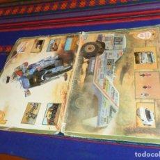 Coleccionismo deportivo: CARPETA ÁLBUM PARÍS DAKAR 87 COMPLETO 39 CROMOS. TELE INDISCRETA. RARO.. Lote 115567883