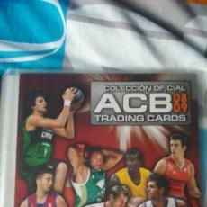 Coleccionismo deportivo: ALBUM LIGA 2008 2009 ACB TRADING CARDS PANINI BARCELONA MADRID..... Lote 116190476