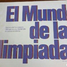 Coleccionismo deportivo: ÁLBUM EL MUNDO DE LAS OLIMPIADAS. LABORATORIOS VITA. COMPLETO. Lote 116376096