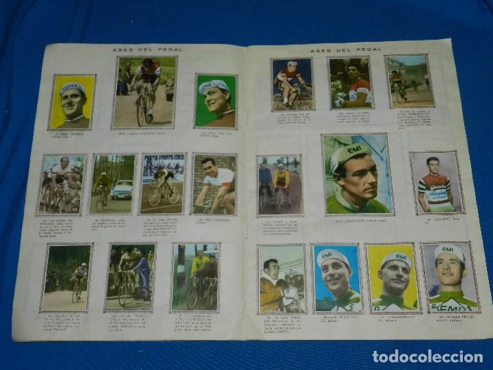 Coleccionismo deportivo: ALBUM CICLISTA 1962 VUELTA GIRO Y TOUR , CROMOS EVA, COMPLETO , IMPECABLE ESTADO DE CONSERVACION - Foto 4 - 116551635