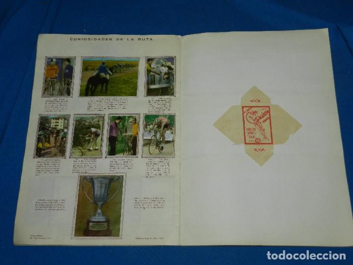 Coleccionismo deportivo: ALBUM CICLISTA 1962 VUELTA GIRO Y TOUR , CROMOS EVA, COMPLETO , IMPECABLE ESTADO DE CONSERVACION - Foto 6 - 116551635