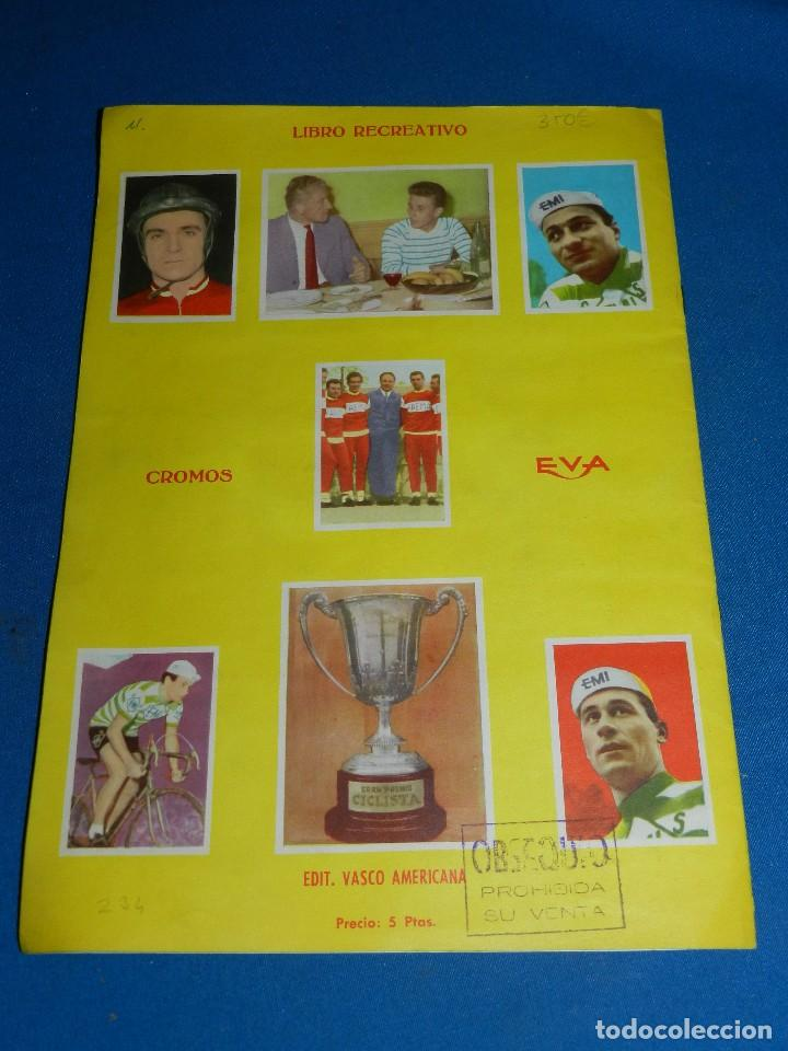 Coleccionismo deportivo: ALBUM CICLISTA 1962 VUELTA GIRO Y TOUR , CROMOS EVA, COMPLETO , IMPECABLE ESTADO DE CONSERVACION - Foto 8 - 116551635