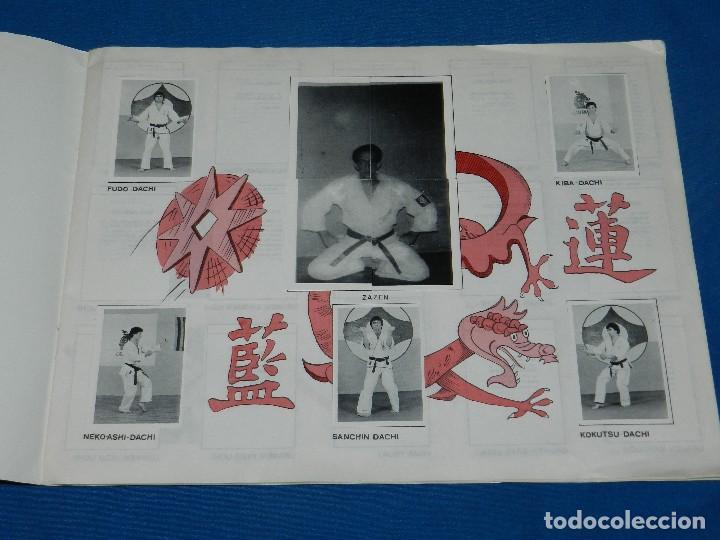 Coleccionismo deportivo: ALBUM COMPLETO - KARATE TECNICA Y COMPETICION , FCR EDC ARA 1980 , BUEN ESTADO - Foto 2 - 119173247
