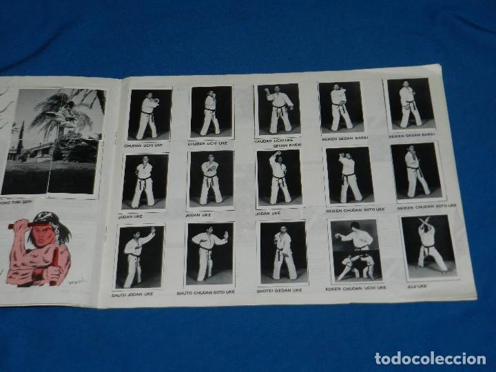 Coleccionismo deportivo: ALBUM COMPLETO - KARATE TECNICA Y COMPETICION , FCR EDC ARA 1980 , BUEN ESTADO - Foto 5 - 119173247