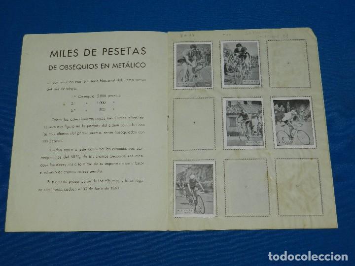 Coleccionismo deportivo: ALBUM ASES DEL PEDAL CORRIENDO HACIA LA META , EXCLUSIVAS TRIUNFO , FALTAN 28 CROMOS - Foto 2 - 120626687