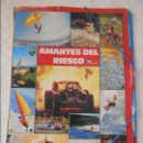 Coleccionismo deportivo: AMANTES DEL RIESGO. TELE INDISCRETA. LAS MEJORES FOTOS DEL MUNDO. ALBUM DE CROMOS COMPLETO. 230 GRAM. Lote 122073731