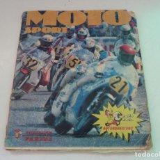 Coleccionismo deportivo: ALBUM MOTO SPORT PANINI COMPLETO. Lote 122540455
