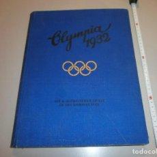 Coleccionismo deportivo: ALBUM COMPLETO OLIMPIADAS DE LOS ANGELES AÑO 1932 CONTIENE 144 HOJAS. Lote 122967691