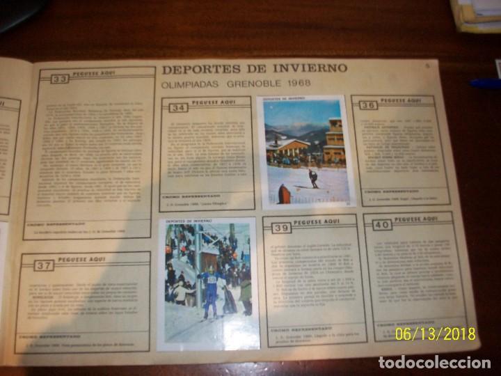 Coleccionismo deportivo: ALBUM CONTAMOS CONTIGO-INCOMPLETO - Foto 2 - 124649523