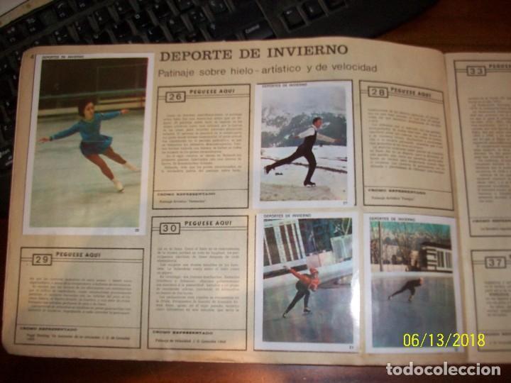 Coleccionismo deportivo: ALBUM CONTAMOS CONTIGO-INCOMPLETO - Foto 3 - 124649523