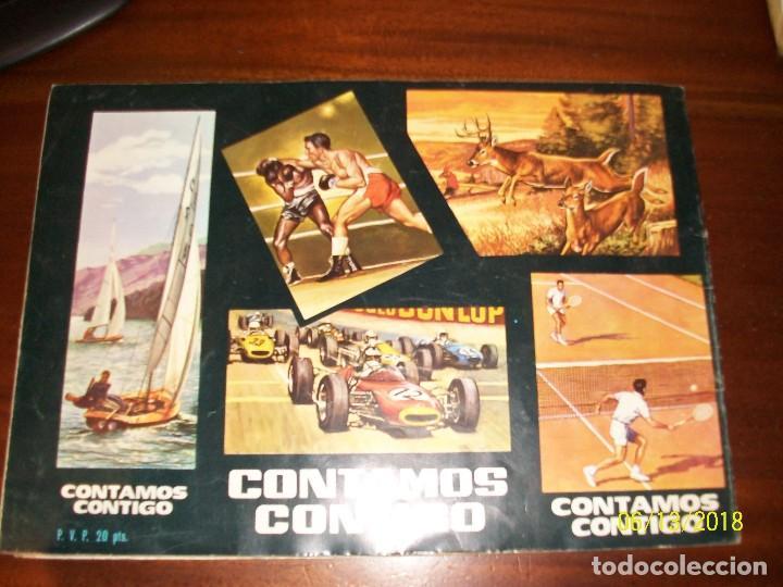 Coleccionismo deportivo: ALBUM CONTAMOS CONTIGO-INCOMPLETO - Foto 4 - 124649523