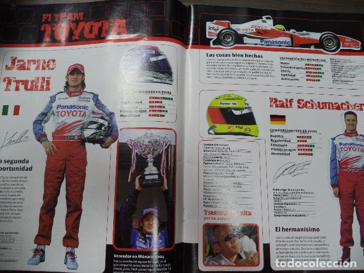 Coleccionismo deportivo: ALBUM INCOMPLETO. ALBUM CON TODA LA INFORMACION DE FORMULA 1 Y MOTO GP. GP MARCA. FALTAN 6. - Foto 4 - 125284859