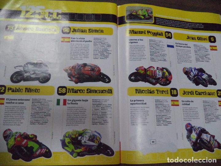 Coleccionismo deportivo: ALBUM INCOMPLETO. ALBUM CON TODA LA INFORMACION DE FORMULA 1 Y MOTO GP. GP MARCA. FALTAN 6. - Foto 9 - 125284859
