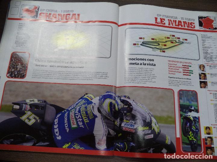 Coleccionismo deportivo: ALBUM INCOMPLETO. ALBUM CON TODA LA INFORMACION DE FORMULA 1 Y MOTO GP. GP MARCA. FALTAN 6. - Foto 10 - 125284859