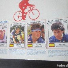 Coleccionismo deportivo: ALBUM COMPLETO CICLISMO TOUR FRANCIA GIRO DE ITALIA DAUPHINE LIBERE VUELTA COLOMBIA 1985 RARO ESCASO. Lote 125439615