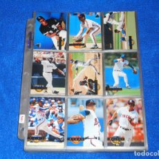Coleccionismo deportivo: BÉISBOL MLB 1994 (PINNACLE) BASEBALL - COLECCIÓN COMPLETA Y EN EXCELENTE ESTADO. Lote 126093047