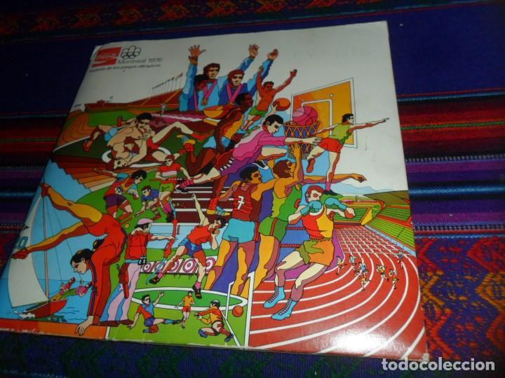 MONTREAL 1976 HISTORIA DE LOS JUEGOS OLÍMPICOS COMPLETO 84 CROMOS. COCA COLA. (Coleccionismo Deportivo - Álbumes otros Deportes)