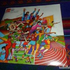 Coleccionismo deportivo: MONTREAL 1976 HISTORIA DE LOS JUEGOS OLÍMPICOS COMPLETO 84 CROMOS. COCA COLA.. Lote 126883987