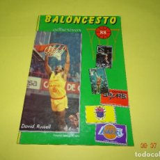 Coleccionismo deportivo: ALBUM PLANCHA *BALONCESTO* LIGA 1987-88 DE J. MERCHANTE EDITOR - AÑO 1987. Lote 128294607