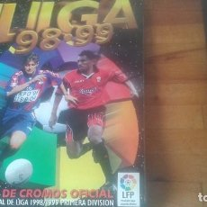 Coleccionismo deportivo: ALBUM 1998-99 ESTE CON 274 CROMOS. Lote 131053264