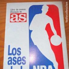 Coleccionismo deportivo: LOS ASES DE LA NBA 1989- COMPLETO - AS- . Lote 131685086