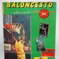 Coleccionismo deportivo: ALBUM BALONCESTO 88 EDITORIAL MERCHANTE. Lote 204669520
