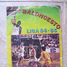 Coleccionismo deportivo: ÁLBUM BALONCESTO LIGA 1984-1985 (84-85). 1ª DIVISIÓN CLESA. CONTIENE 104 CROMOS. Lote 132847918