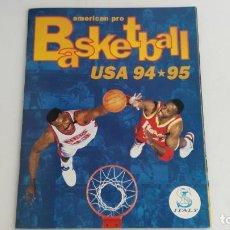 Coleccionismo deportivo: ANTIGUO ALBUM DE CROMOS BASKETBALL USA 94 95 . Lote 133219634