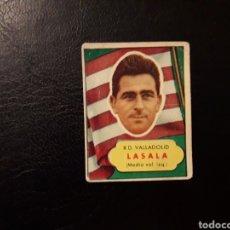 Coleccionismo deportivo: LASALA. VALLADOLID. ASES DEL FÚTBOL. 1952-1953. 52-53. BRUGUERA. NUNCA PEGADO. VER FOTOS. Lote 133414503