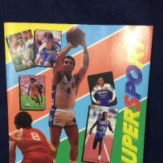 Coleccionismo deportivo: SUPERSPORT ALBUM COMPLETO DETORTES PANINI 1987 PERFECTO ESTADO TENIS BALONCESTO FUTBOL MOTOR . Lote 133811750