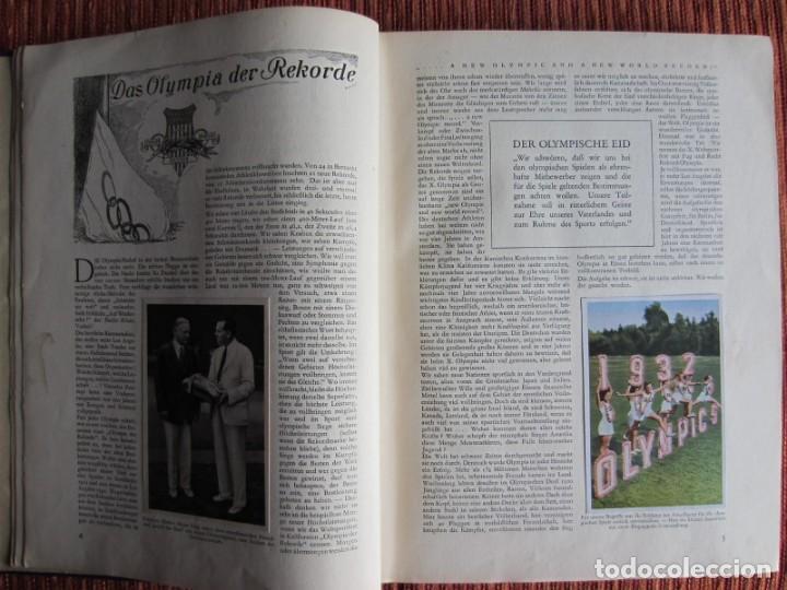 Coleccionismo deportivo: 1932-Juegos Olímpicos Olimpiada Los Angeles, álbum con más de 200 cromos. Completo y original. - Foto 4 - 133968246
