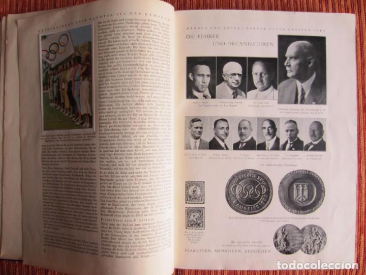 Coleccionismo deportivo: 1932-Juegos Olímpicos Olimpiada Los Angeles, álbum con más de 200 cromos. Completo y original. - Foto 5 - 133968246