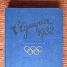 Coleccionismo deportivo: 1932-JUEGOS OLÍMPICOS OLIMPIADA LOS ANGELES, ÁLBUM CON MÁS DE 200 CROMOS. COMPLETO Y ORIGINAL.. Lote 133968246